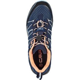CMP Campagnolo Atlas Shoes Women black blue-cristal-peach fluo